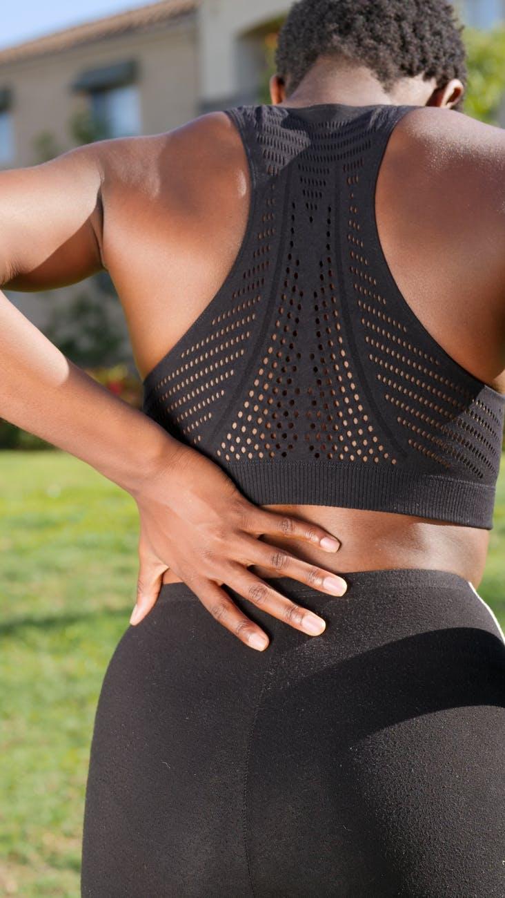 sports injury, back pain, knee pain, strength training
